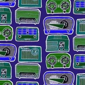 Vintage AM Table Top Radio Nostalgia