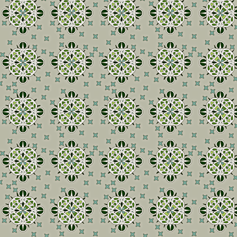 © 2011 spikeyberry - cool fabric by glimmericks on Spoonflower - custom fabric