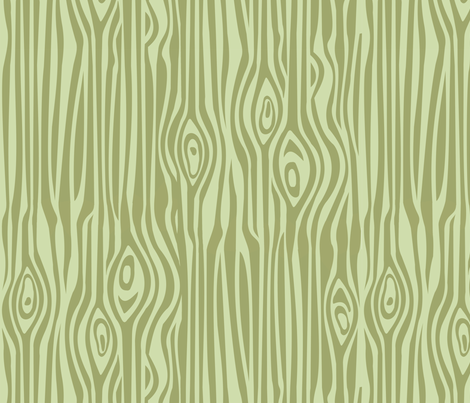 Mod Grain - Greens fabric by thirdhalfstudios on Spoonflower - custom fabric