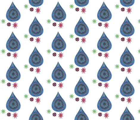 AprilShowersMayFlowers1 fabric by jkayep2 on Spoonflower - custom fabric