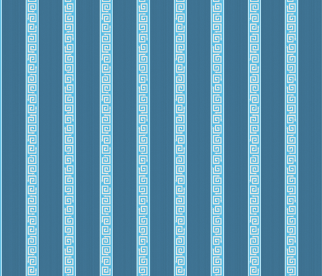 "PALM SPRINGS STRIPE in ""AZURE"" fabric by trcreative on Spoonflower - custom fabric"
