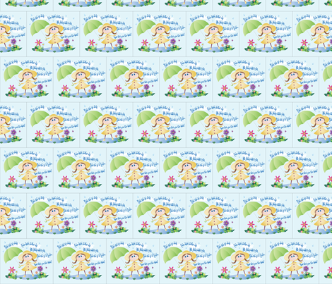 rainydayfabric fabric by baby_cakes on Spoonflower - custom fabric