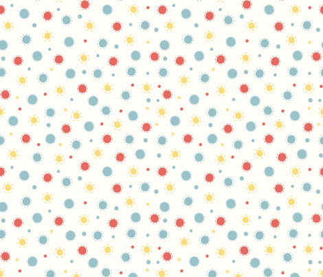 spots and dots fabric by mondaland on Spoonflower - custom fabric