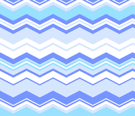 ZigZag fabric by thornbirds on Spoonflower - custom fabric