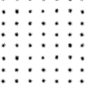 Spanish_Floral_Dots_WHITEBLACK