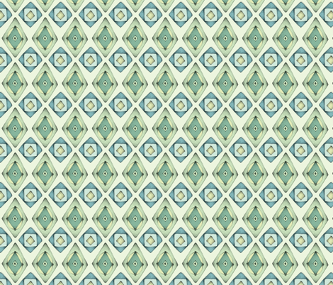 Vintage Green fabric by mobuedinger on Spoonflower - custom fabric