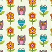 Flower & Owl