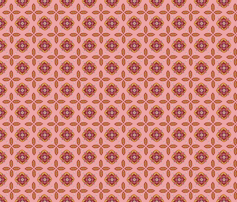 Ornament Pink fabric by mobuedinger on Spoonflower - custom fabric