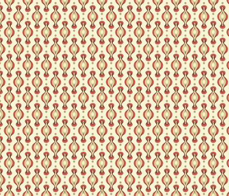 Vintage Red fabric by mobuedinger on Spoonflower - custom fabric