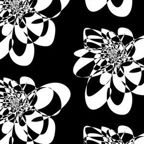 C'EST LA VIV™ Black & White Collection_Flower