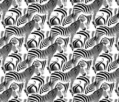 Black & White Stripes fabric by farrellart on Spoonflower - custom fabric