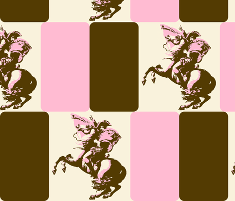 Neopolitan Bonaparte fabric by joybucket on Spoonflower - custom fabric