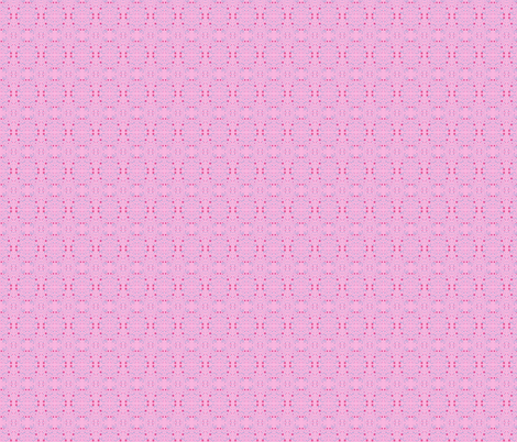 pink garden fabric by mimi&me on Spoonflower - custom fabric
