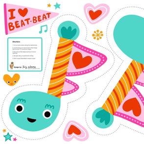 Beat-Beat music note toy
