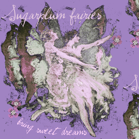 Sugarplum fairies # 3 / dreams fabric by paragonstudios on Spoonflower - custom fabric