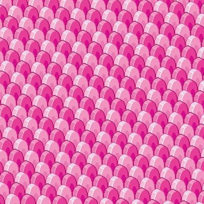 Pixelated Pink Dragon Scales