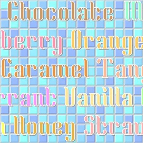 ice-cream flavours (large)