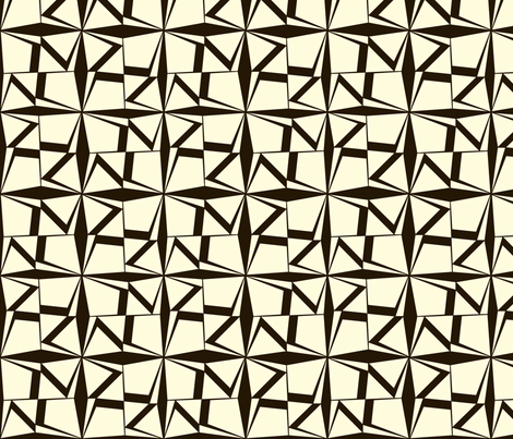 BlackWhite fabric by ghennah on Spoonflower - custom fabric