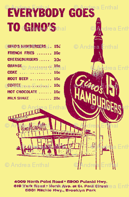 Everybody Goes to Gino's hamburger stand