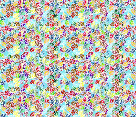 © 2011 Leaves of a Jungle fabric by glimmericks on Spoonflower - custom fabric