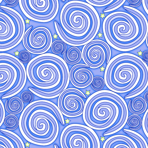 © 2011 starlightstarbright fabric by glimmericks on Spoonflower - custom fabric