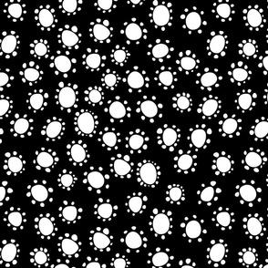 Spanish_Floral_Dots2_BLACKWHITE
