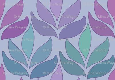 Leaf_Texture_fabric_lg-multi-PERIWINKLE