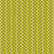 herringbone wasabi and white