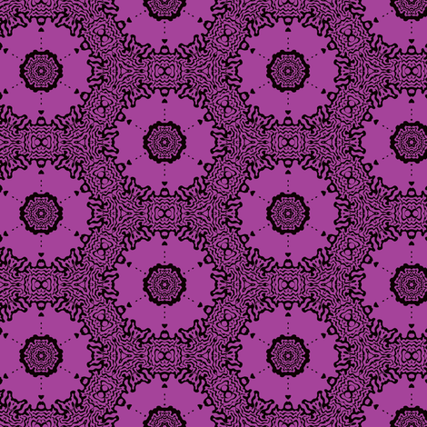 lavender circles fabric by heikou on Spoonflower - custom fabric