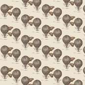 Hot Air Balloon brown mix