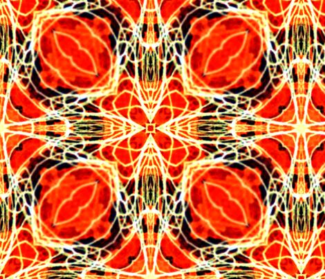 orange star 2 fabric by heikou on Spoonflower - custom fabric