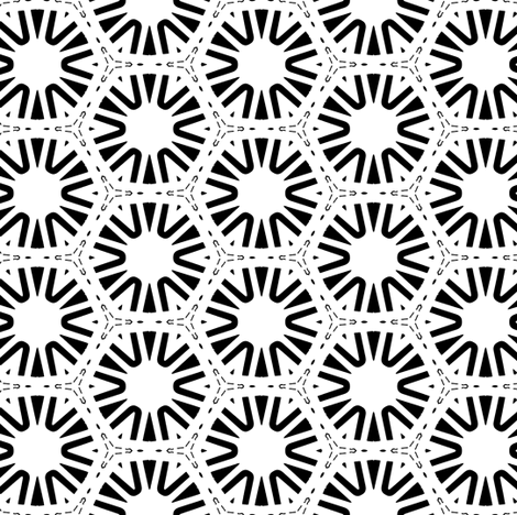 black and white wheels fabric by heikou on Spoonflower - custom fabric