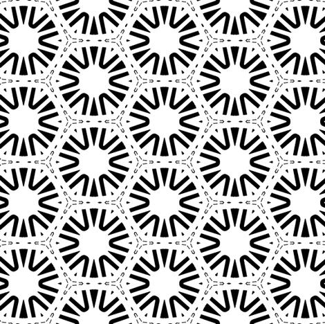 black and white wheels fabric by heikou on Spoonflower - custom fabric