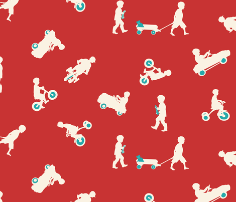 Lil' Adventurers fabric by twobloom on Spoonflower - custom fabric
