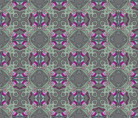 Dragon Fushia fabric by captiveinflorida on Spoonflower - custom fabric