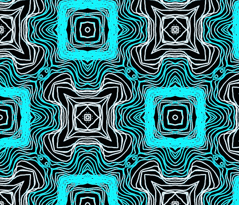 ice cubes fabric by heikou on Spoonflower - custom fabric