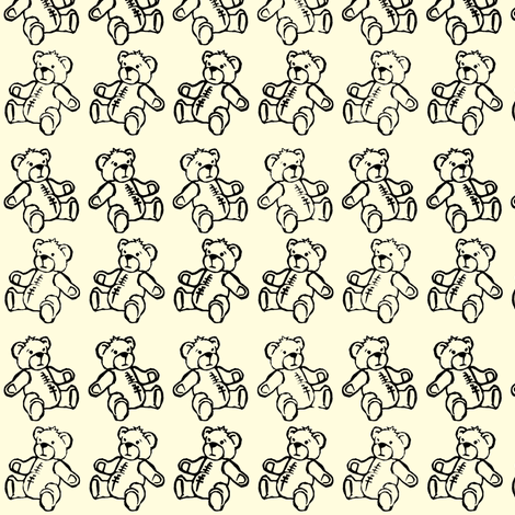 Baby Bear Plaid fabric by woodle_doo on Spoonflower - custom fabric