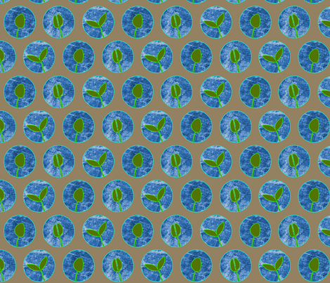 sprouts sprouting fabric by jenr8 on Spoonflower - custom fabric
