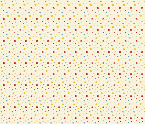 Circus fun for little one! - Stars fabric by bora on Spoonflower - custom fabric