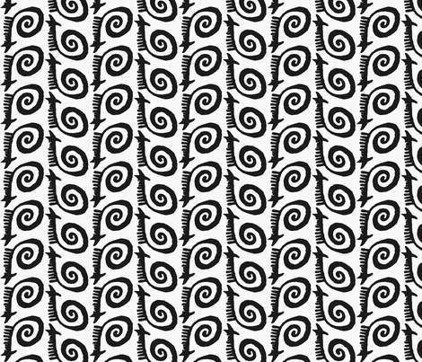 TribalSwirl3 fabric by ghennah on Spoonflower - custom fabric