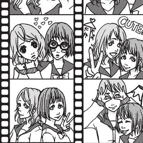 Purikura Fun (Halftone)
