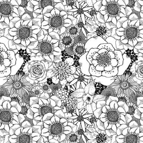 Mess of Flowers - coordinate