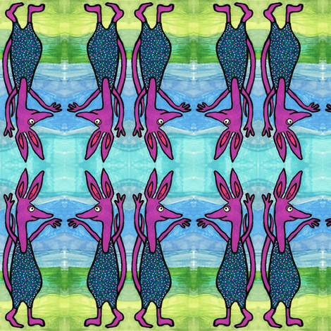The Wamzilaki fabric by edsel2084 on Spoonflower - custom fabric