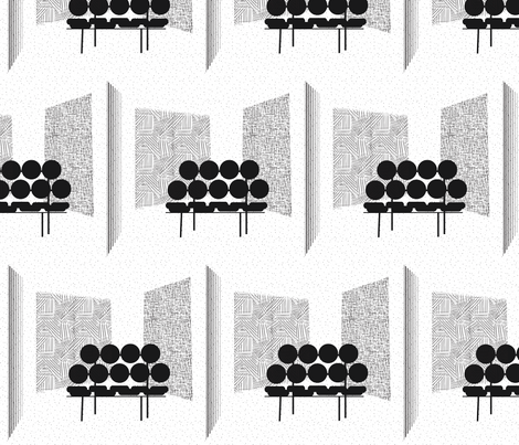 Living Room fabric by the_lovely on Spoonflower - custom fabric