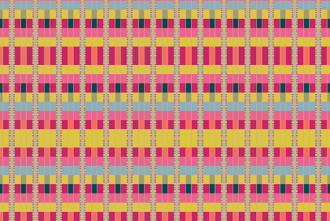 Modern Navajo fabric by joybucket on Spoonflower - custom fabric