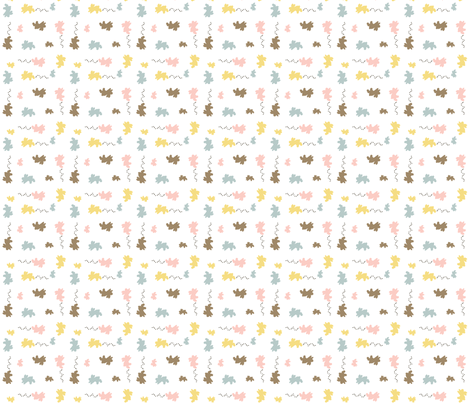 Bunny sprinkles_v2 fabric by cherryandcinnamon on Spoonflower - custom fabric