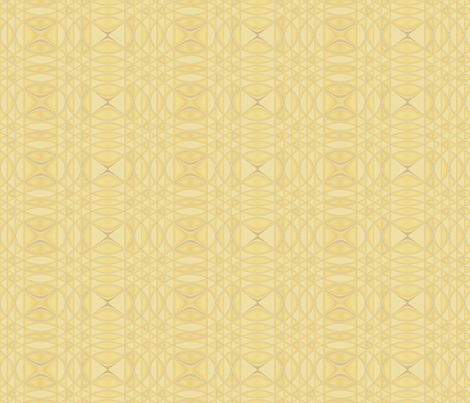 Morning Song in Yellow © Gingezel 2010 fabric by gingezel on Spoonflower - custom fabric