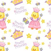 Pretty Princess Duckling White