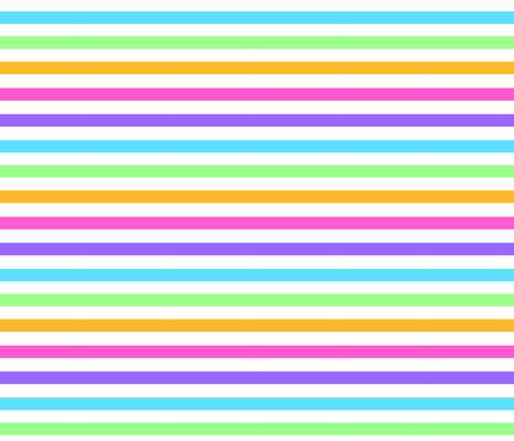 Rainbow Candy Stripes fabric by katbrunnegraff on Spoonflower - custom fabric