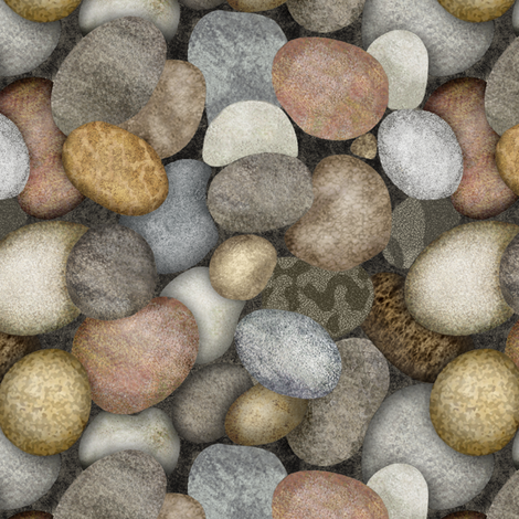 colored_stones_alt__single fabric by thatswho on Spoonflower - custom fabric